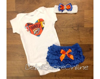OKC Thunder Outfit and Headband
