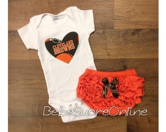 Cleveland Browns Girls Outfit