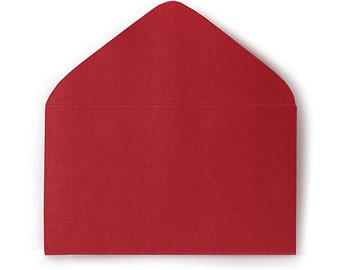 "75ct. RED Florist Enclosure Card ENVELOPES - Mini Small 2-1/2"" x 4-1/4"" (Free Shipping!)"
