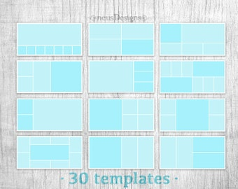 Album template mask, photo collage template, collage template, photo album template, album template, photo template, photo collage, 10x20