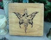 Goddess Butterfly Keepsake Box
