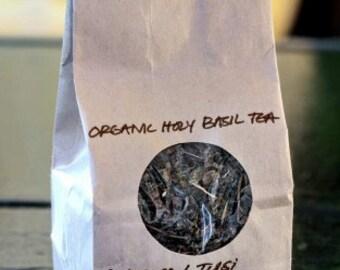 Organic Loose Leaf Tea // Holy Basil // Garden Apothecary