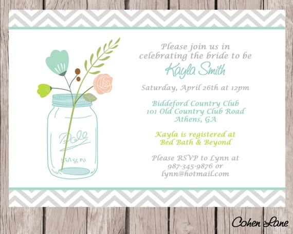 Wedding shower invitation bridal shower bridal lunch baby shower il570xn filmwisefo
