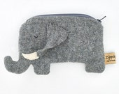 Elephant Coin purse with /without strap