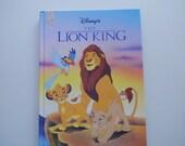 Vintage Walt Disney's The Lion King Hardback Children's Book 1994