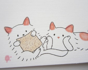 10 envelope / Penpal Kitty