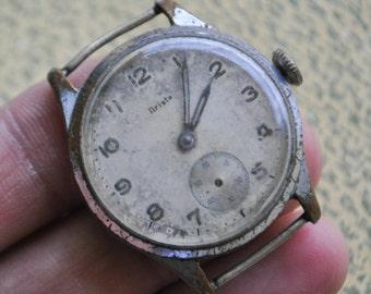 ARISTA Antique wrist watch for parts.Didn't work.