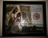 Game of Thrones finished frames puzzle