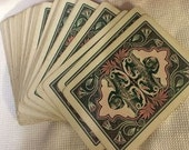 Antique Fortune Telling Cards - The Nile - Gold Edge with Box 1897-1904 - Complete!