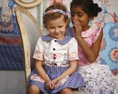 Gemma Skirt AND Blouse PDF Pattern & Tutorial Set, {Circle Skirt Style} All sizes 2T-10 years included