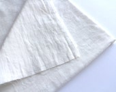 cotton double gauze fabric. soft japanese pure cotton fabric. 102cm (40in) wide. sold by 50cm (19in) long / half yard. white