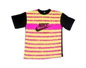Hyper-Rare 80s Nike Deadstock Neon Allover Print Surf T-Shirt - M / L