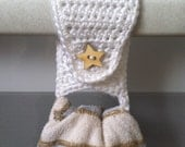 Towel Holder / Towel Ring / Kitchen Towel Holder / Crochet Towel Holder