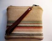 Agave Stripe Clutch/Wristlet