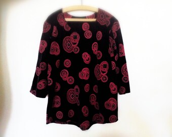 Vintage shirt Red 80s
