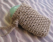 Cotton Soap Bag Body Scrubber