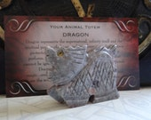Hand Carved *DRAGON* Animal Spirit Totem for Spiritual Jewelry or Crafts
