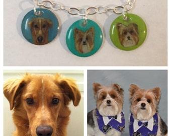 Custom Pet Portrait Bracelets