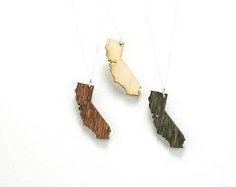 Petite CA Love - Handmade - Laser Cut - Laser Cut Jewelry - California Love