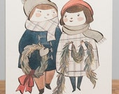 Card- Christmas Couple