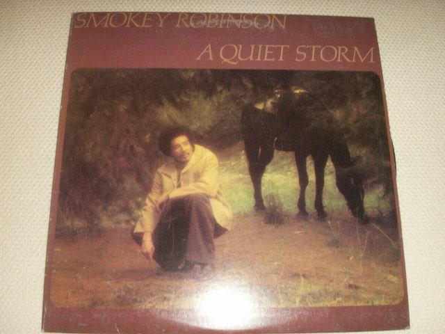 Smokey Robinson 1975 A Quiet Storm Vinyl Lp Album One Of