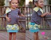 Brewster's Baby Bubble Pocket Skirt PDF Pattern Sizes newborn to 18/24 mos