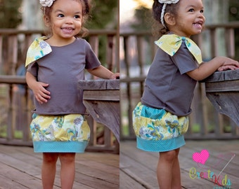 Brewster's Baby Bubble Pocket Skirt PDF Pattern Sizes newborn to 18/24 mos