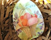 3 Dimensional Paper Easter Egg Ornament