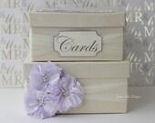 Wedding Card Box Money Box - custom made to order (Small Size)