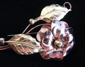 Rose Gold Brooch