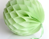 CELERY honeycomb ball - various sizes - pompoms party decorations- hanging decoration