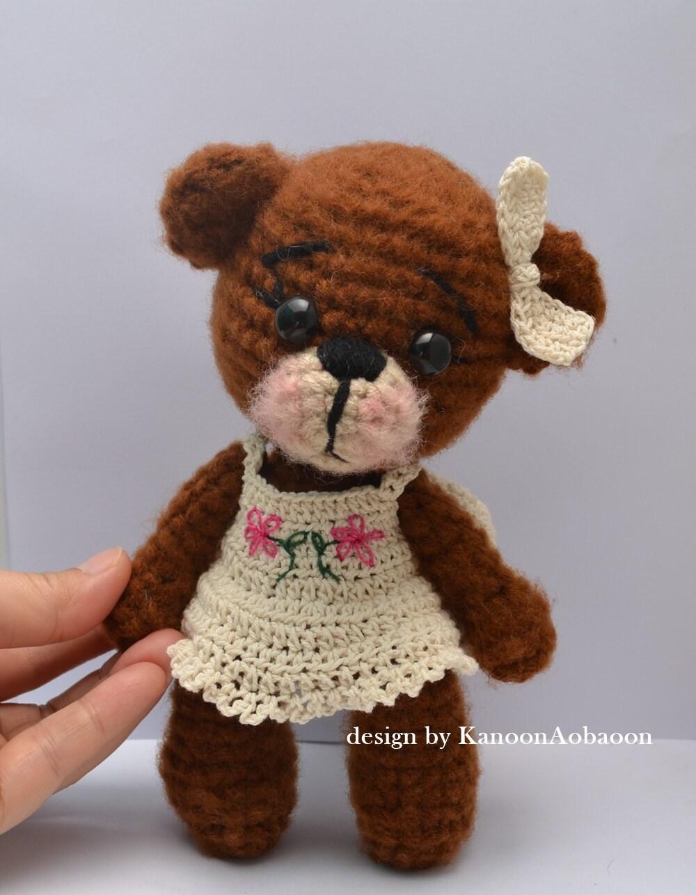 Amigurumi Bear Small Crochet Bear Gifts for Girls Christmas