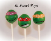 So Sweet Pops Happily Made Turtle Head Inspired Cake Pops