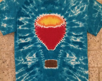 Tie Dye Hot Air Balloon, Adult Small