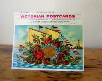 Vintage Victorian Postcards, Vintage Reproduction Victorian Postcards from The Eclectic Interior