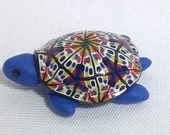 Polymer Clay Turtle, Turtle Figurine, Mini Turtle, Polymer Clay Animals, Geekery, Pet Turtle, Turtle Totem by Classon Creations