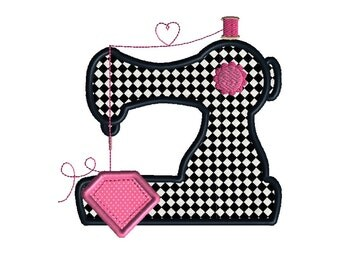 Sewing Machine Applique Machine Embroidery Design-INSTANT DOWNLOAD