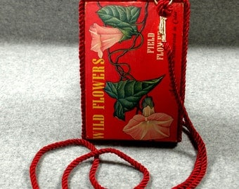 Custom Vintage Book Cell Phone Purse