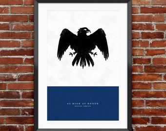 """Game of Thrones - House Arryn print 11X17"""""""