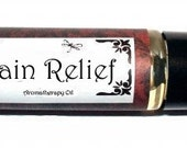 PAIN RELIEF - Roll on Premium Essential Oil Blend - 1/3 oz  All Natural Aromatherapy Treatment Oil