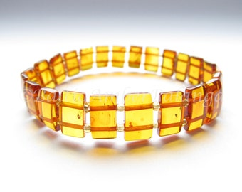 Baltic Amber Cognac Color Bracelet