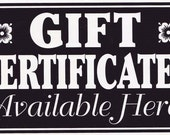 25 Dollar Aurora Soap Gift Certificate Mailed or Emailed Free Shipping