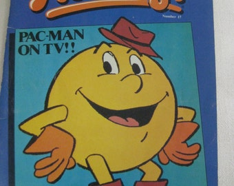 Vintage 1983 Hot Dog Magazine featuring Pac Man