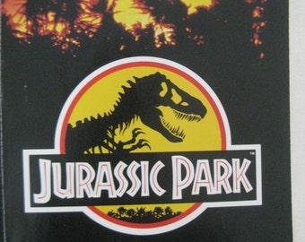 Vintage Jurassic Park Movie Book