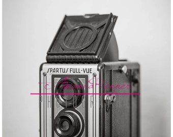 Fine Art Photography - 20x30 Canvas Gallery Wrap - Spartus Full-Vue Vintage Camera