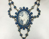 Angelic cameo necklace