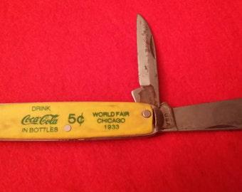 Coca Cola Vintage Knife