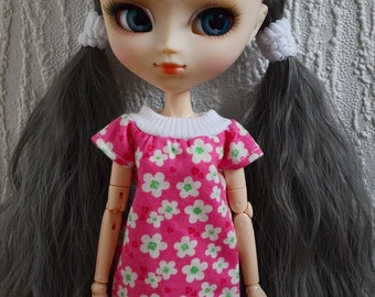 Floral pink tee for Pullip doll