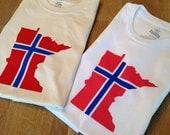 Norway Minnesota T Shirt