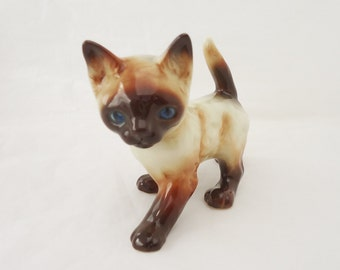 Vintage Western Germany Porcelain Cat Figurine, Cat Figurine, UK Seller